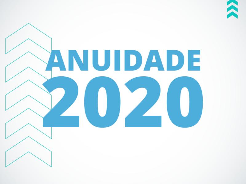 Comunicado – Anuidade 2020 | Core PR