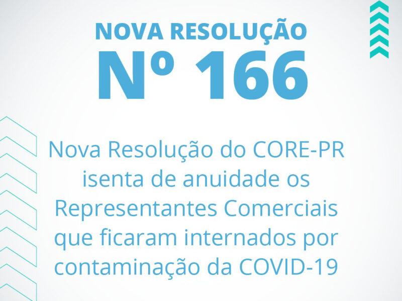 Resolução 166: isenção para internados por COVID-19 | Core PR